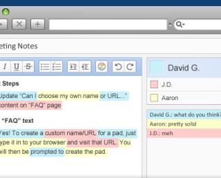 TitanPad: Super-simple collaboration tool